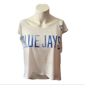 VS PINK | Blue Jay's Crop Top